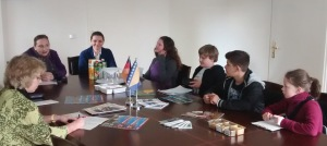 In der Botschaft Bosnien Herzegowina